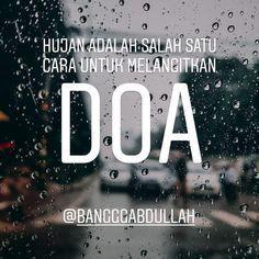 Kata Mutiara Hujan Menurut Islam Dengan Gambar Hujan Islam
