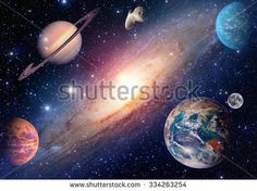Astrology astronomy earth moon outer space mars saturn solar system planet galaxy. Elements of this image furnished by NASA.