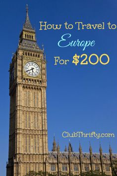 Want to learn how to see Europe for cheap? We made it to London and Paris for $200 with some some credit card rewards strategies that will blow your mind