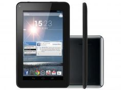 "Tablet Multilaser Supra 8GB Tela 7"" Wi-Fi - Android 4.2 Proc. Dual Core Câm. 1.3MP"