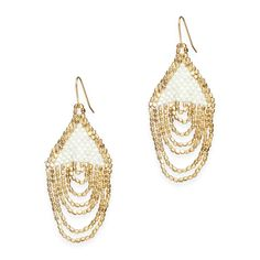 Love this! Found it on Southern Sparkle These will put a gleam in their eye! The  Ellie Ivory Earrings!