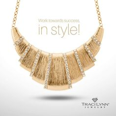 """""""Royal"""" Great accessory for work or play!  Order yours today at www.tracilynnjewelry.net/23575"""
