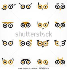 Arte e grafica vettoriale d'archivio di Occhio Gufo   Shutterstock