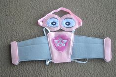 Paw Patrol Skye Inspired Wings and Headband by RayasBowtique