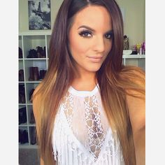 My ideal ombré Casey Holmes is drop dead gorgeous & an amazing person! Love her