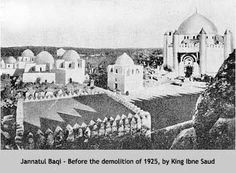 Jannatal Baqee before demolition