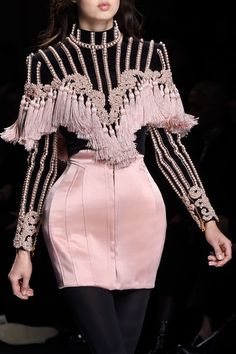 Balmain at Paris Fall 2016 (Details)
