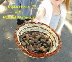 For the Children: Fall Explorations with Natural Materials