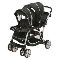 Graco Ready2Grow™ Click Connect™ LX Stand & Ride Stroller in Gotham™ - BedBathandBeyond.com
