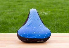 Werbeartikel mit Mehrwert!   Sattelschoner individuell bedrucken. Wasserfest aus Nylon.