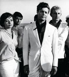 """Marcello Mastroianni """"La Dolce Vita"""" by Federico Fellini (1960)"""