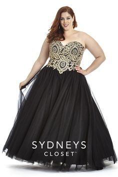 Plus size prom dress size 32