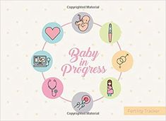 Baby in Progress - Fertility Tracker: Trying To Conceive (TTC) is not easy! Monitor your menstrual cycle and fertile period, BBT chart + PMS tracker . 120 pages (Women Health log book COLLECTION) Charts, Fertility Tracker, Low Mood, Memory Problems, Conceiving, Trying To Conceive, Women Health, Parenting Books