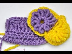Great Tutorial when adding a bullion stitich to existing crochet {Freeform häkeln * Freestyle häkeln * Teil 1 * Bullion Stitch in Reihen und Runden}