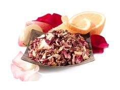 Wild Orange Blossom Herbal Tea at Teavana :: Caffeine-Free | Blend it with any of our other 6 summer teas!