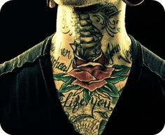 guy with tattoo