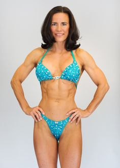 A 50-year-old woman who eats primal and does CrossFit. Unbelievable. I'd love to have her body and I'm in my mid-30's.