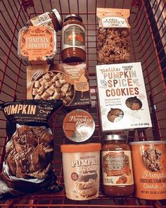Who else loves Trader Joe's pumpkin/fall goodies? What have you picked up this season so far? Who else loves Trader Joe's pumpkin/fall goodies? What have you picked up this season so far? Pumpkin Spice Cookies, Autumn Aesthetic, Autumn Cozy, Happy Fall Y'all, Fall Pumpkins, Autumn Inspiration, Fall Halloween, Dessert, Fall Recipes