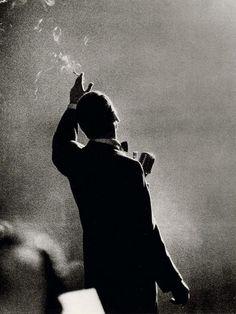 Frank Sinatra by Herman Leonard