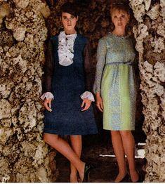 Colleen Corby, Seventeen Magazine 1966 #60s