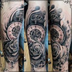 Tatuaje hecho por Diego Trigueros, de Cali (Colombia). Si quieres ponerte en contacto con él para un tatuaje o ver más trabajos suyos visita su perfil: http://www.zonatattoos.com/gredatattoo Si quieres ver más tatuajes de relojes visita este otro enlace: http://www.zonatattoos.com/tag/350/tatuajes-de-relojes