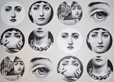 Can't wait for my wallpaper to come in.... love Fornasetti