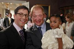James, Cyrus, and Baby Ella - scandal