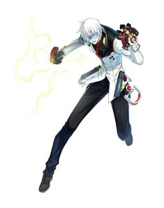 Character Design References, Game Character, Fantasy Characters, Anime Characters, Closers Online, Black Joker, Fantasy Sword, Space Pirate, Reference Images