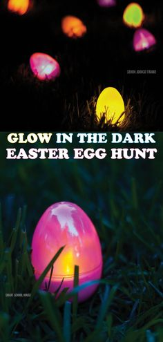 Glow in the Dark Easter Eggs are incredibly fun for kids! They're a great way to have an Easter egg hunt in the dark! Find out how to make these creative, glow in the dark easter eggs today! Easter Dinner, Easter Brunch, Easter Party, Target Dollar Spot, Easter Activities, Easter Crafts For Kids, Easter Egg Hunt Ideas, Easter Games, Easter Stuff