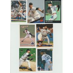 HUGE 35 + Different MIKE HENNEMAN cards lot 5 RC 1987 - 1994 all Tigers premiums