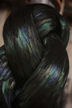 Striking Organic Sculptures Made of Bird Feathers - My Modern Metropolis