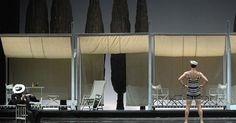 Death in Venice. Tea - Death in Venice. Teatro La Fenice. Scenic design by Pier…