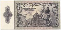 10 Schilling 1950 (Kunstreiter auf Lipizzaner) II. Auflage Österreich Zweite Republik