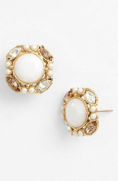 kate spade new york 'belle fleur' stud earrings available at #Nordstrom