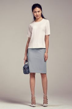 Every woman needs a perfect pencil skirt! Try the Noho - a simple, sleek, and versatile classic that hits at the natural waist and flatters through the hips.