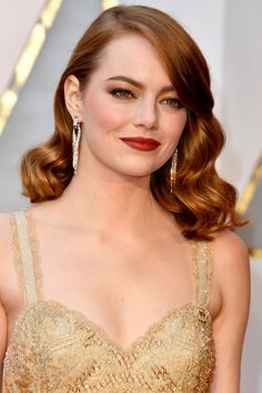 Emma Stone  - oscars 2017, Tiffany's, love it!