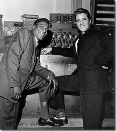 Brook Benton and Elvis Presley WDIA Goodwill Revue, Ellis Auditorium December 6,1957