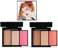 MAC Antonio Lopez Face Palettes in Pink and Coral
