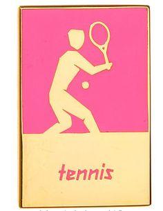 London 2012 Tennis Pin.
