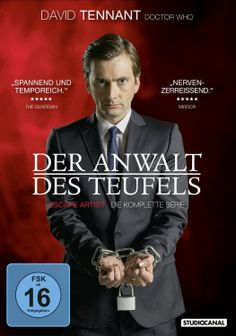 GERMANY: Win The Escape Artist (Der Anwalt des Teufels) With David Tennant On DVD