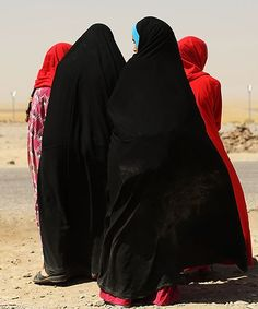 Syrian Women In Portraits Of Freedom From ISIS   Two journalists captured a beautiful moment when women shed their burkas after fleeing ISIS in Syria. #refinery29 http://www.refinery29.com/2015/06/88744/syrian-woman-freedom-portrait