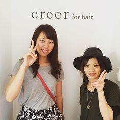 """""""本日のお客様 ダイビングをされているお客様^o^ 沖縄楽しんでくださいね!  また色々お話聞かせて下さい❗️ 本日はご来店ありがとうございました。"""" Photo taken by @creer_for_hair on Instagram, pinned via the InstaPin iOS App! http://www.instapinapp.com (08/12/2015)"""