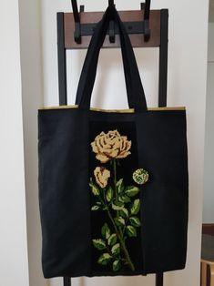 Kanavataulun uusi elämä ja silmupistonappi sävy sävyyn Reusable Tote Bags, Photo And Video