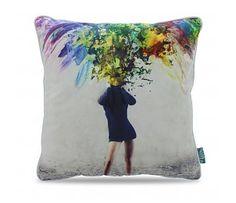 Paint explosion pillow Paint Explosion, Throw Pillows, Painting, Cushions, Decorative Pillows, Painting Art, Paintings, Decor Pillows, Drawings