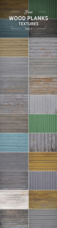 Free 20 textures of painted and weathered wood planks Wood Plank Texture, Wood Planks, Weathered Wood, Graphic Design, Free, Distress Wood, Wooden Boards, Wood, Visual Communication
