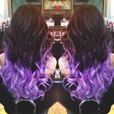 Love this purple ombre.