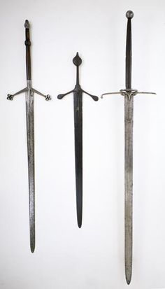Medieval German two handed swords