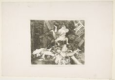 Goya (Francisco de Goya y Lucientes) | Plate 30 from 'The Disasters of War' (Los Desastres de la Guerra): ' Ravages of War' (Estragos de la guerra) | The Met