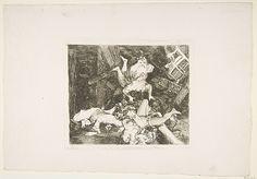 Goya (Francisco de Goya y Lucientes) | Plate 30 from 'The Disasters of War' (Los Desastres de la Guerra): ' Ravages of War' (Estragos de la guerra) | The Met