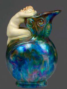 Zsolnay Art Nouveau Vase